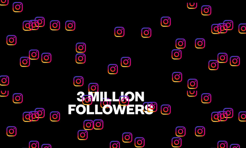 Spinnin's Insta welcomes its 3 millionth follower
